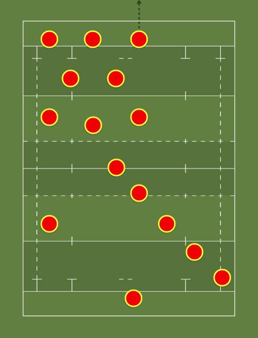 Staffs Uni starting lineup vs Derby: -