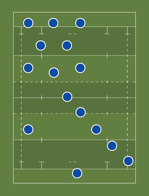 Samoa Starting XV - Samoa WC starting team -