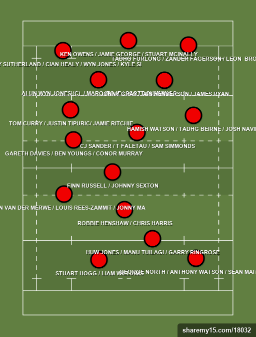 43 LIONS TO TAKE! - LIONS 2021 - 24th July 2021 -