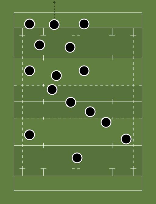 The All blacks for France. - How I would of down All Blacks v France -
